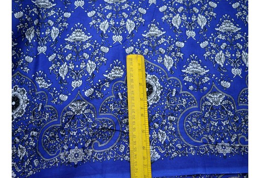 Indian Printed Fabric soft cotton for Dress