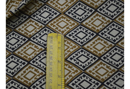 Ethnic Screen Printed bohemian Cotton Fabric