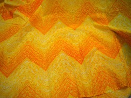 Yellow cotton fabric for Quilting Screen Printed Cotton