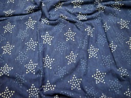 Star Printing cotton floral indigo summer cotton indian fabric