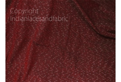Burgundy Ikat Cotton Fabric Yardage Handloom Fabric sold by yard Summer Dresses Material Home Decor Yarn Dyed Remnant Quilting Table Runner