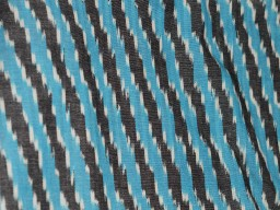 Ikat Cotton Fabric Ikat Upholstery Fabric Indian Ikat Fabric Handwoven Ikat Homespun Ikat Fabric for Home Decor Blue Black white Ikat