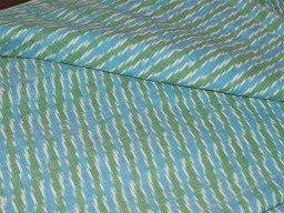 Ikat Cotton Fabric Ikat Upholstery Fabric Indian Ikat Fabric Handwoven Ikat Homespun Ikat Fabric for Home Decor Blue Green White Ikat