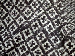 Soft Cotton Fabric in Brownish grey Color sold