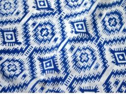 Block Print Cotton Fabric, Soft Cotton Fabric by the yard