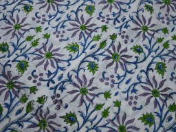 Block Print Cotton Fabric cotton dress fabric