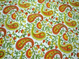 Indian Block Printed Soft Cotton Fabric Floral Soft Cotton Fabric Block Printed Soft Cotton Fabric