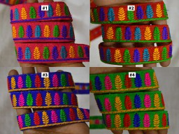 9 Yard Fashionable sari wholesale Indian embroidered ribbon decorative saree border indian laces fancy fabric trim sewing crafting ribbon dupatta trimmings hat making accessories