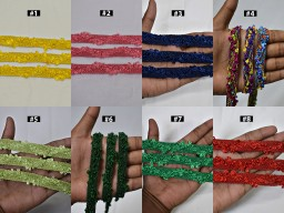 4 yard Decorative Braided Edging Trim Cording Ribbon Indian Costume Tape Crafting dresses Sewing Embellishments Lampshade Lace Table Runner Trimmings