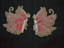 Golden Christmas Appliques Decorative Appliques Handmade Patches Sewing Indian Dresses Patches