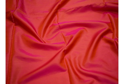 Sewing iridescent polyester silk fabric poly fabric crafting wedding bridesmaid dresses costumes cushions drapes lining