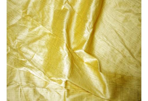 Lemon yellow dupioni fabric poly dupion fabric crafting wedding bridesmaid prom dresses sewing costumes cushions drapes