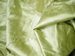 Olive green fabric by the yard poly dupion fabric crafting wedding bridesmaid prom dresses sewing costumes cushions drapes