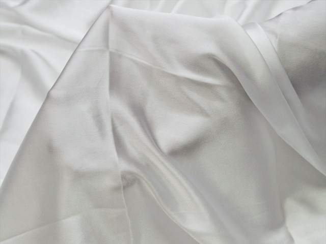 Blended satin plain fabric dress costume apparel wedding dresses semi satin fabric by yard bridesmaid dye able crafting sewing