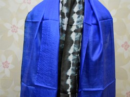 Silk Scarf Boho Long Scarf Women Stole Tie Dye Scarves Gifts for Her Bridesmaid Stole