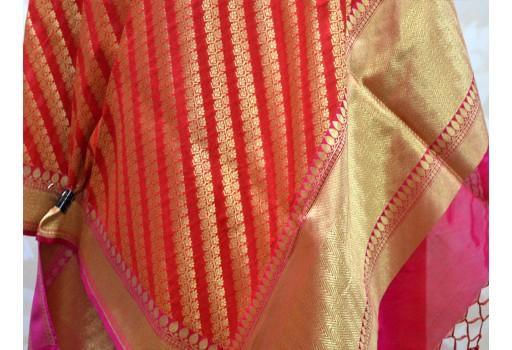 Brocade scarf Banarasi Dupatta Scarf Women stole Christmas Gifts Wedding Scarf