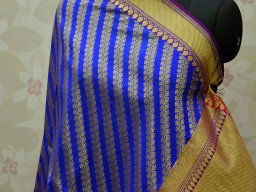 Benarasi Dupatta Women stole Banarasi Brocade Scarf Indian Dupatta