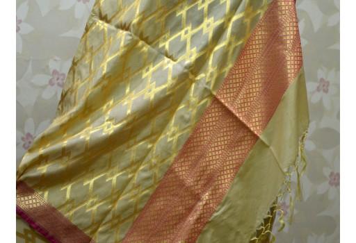 Benarasi Dupatta Women stole Elegant Evening Scarves