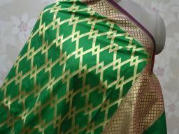 Purple banarasi women scarfs indian ethnic gown wear designer dupatta bridesmaid evening  brocade long handloom christmas birthday gifts silk scarves boho occasion dress fabric stoles for festive wear