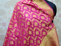 Women Scarfs Indian Banarasi wedding Brocade Dupatta Wedding Stole