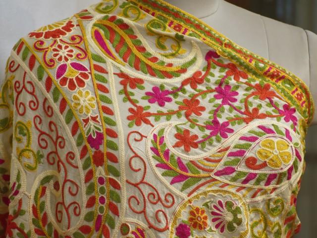 Indian Wedding Dupatta Embroidered Georgette Long Dupatta Chuni Bridal Veil Lehenga Embroidery Stoles Festival Punjabi Dress Chunni Gifts
