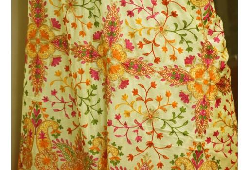 Indian Embroidered Wedding Dupatta Georgette Long Dupatta Chuni Bridal Veil Lehenga Embroidery Stoles Festival Punjabi Dress Chunni Gifts