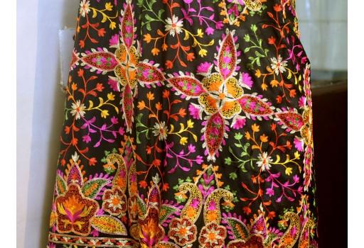Indian Embroidered Georgette Wedding Dupatta Long Dupatta Chuni Bridal Veil Lehenga Embroidery Stoles Scarfs Punjabi Dress Chunni Women Gift