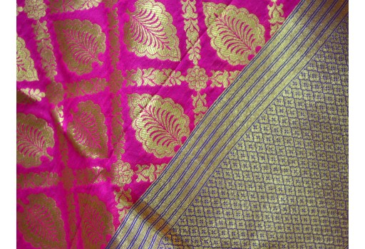 Long Silk Scarf Gifts for Her Women Stoles Ethnic Brocade Dupatta
