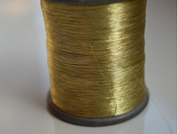 Metallic Golden Embroidery Thread