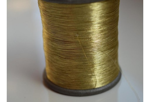 Grey and White Silk Thread Spool Art Silk Thread Hand Machine Embroidery Thread