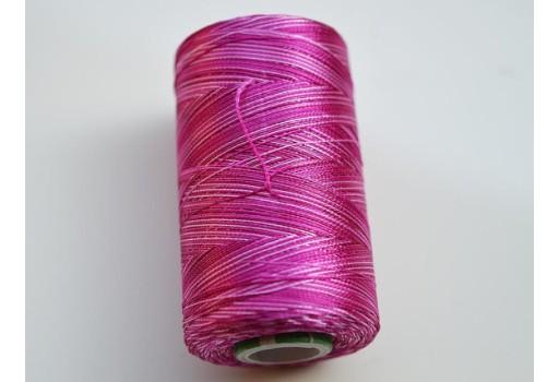 Dark Grey Silk Thread Spool Art Silk Thread Hand And Machine Embroidery Thread