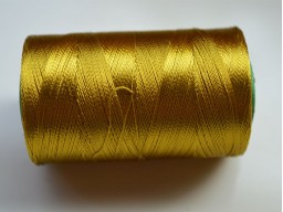 Corn Yellow Silk Thread Spool Art Silk Thread Hand And Machine Embroidery Thread