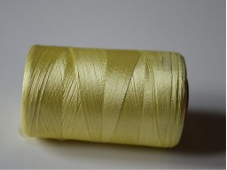Lime Yellow Silk Thread Spool Art Silk Thread