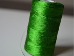Parrot Green Thread Spool Art Silk Thread