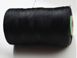 Black Silk Thread Spool Art Silk Thread Hand And Machine Embroidery Thread