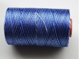 Blue and White Silk Thread Spool Art Silk Thread