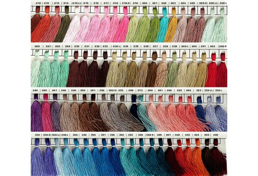 Any 25 Shade of Silk Thread Spool Silk Thread