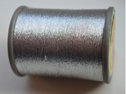 Metallic Silver Embroidery Thread Hand And Machine Embroidery Thread