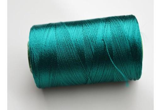 Plum Silk Thread Spool Art Silk Thread Hand Machine Embroidery Thread