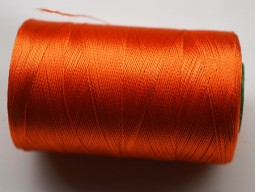 Orange Silk Thread Spool Art Silk Thread Hand Machine Embroidery Thread