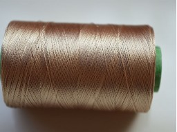 Latte Color Silk Thread Spool Art Silk Thread Hand And Machine Embroidery Thread