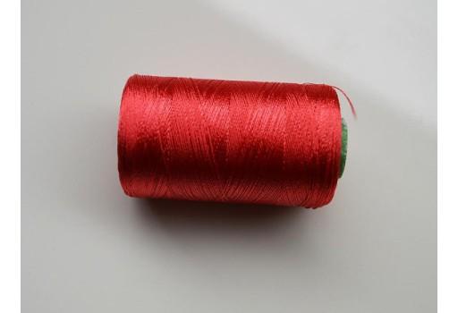 Emerald Green Silk Thread Spool Art Silk Thread