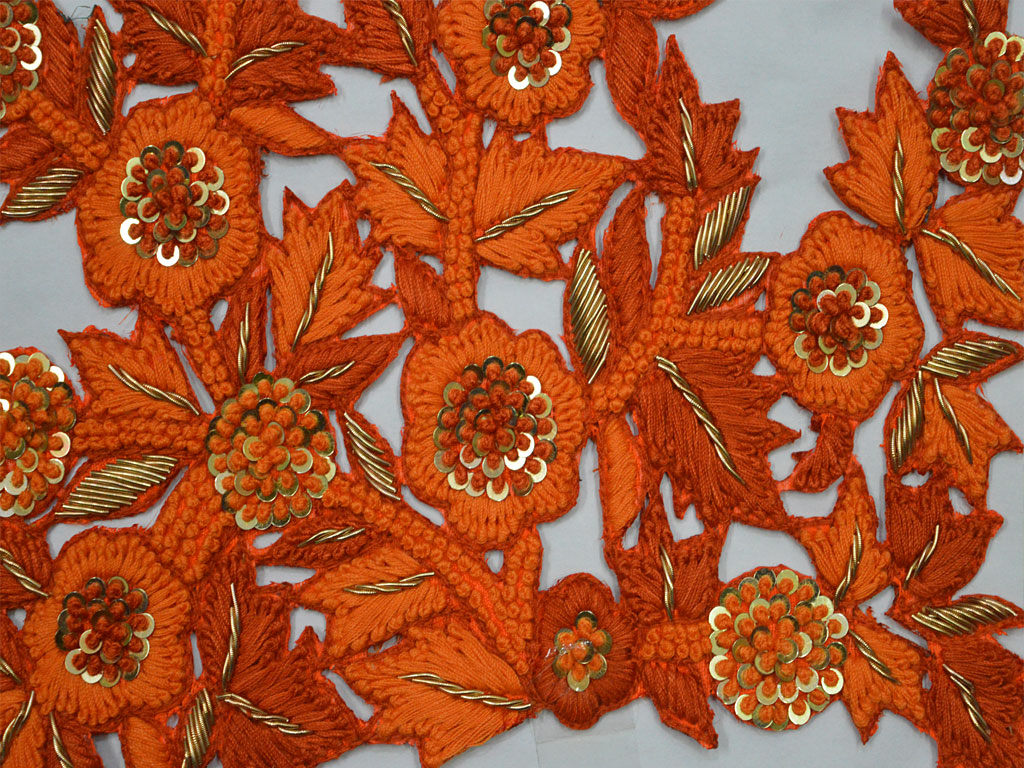 Handcrafted Scrap Booking Decorative Sewing Indian Appliques