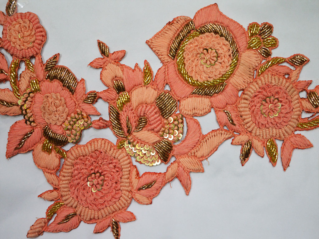Indian Patches Appliques For Design A Beautiful Dress