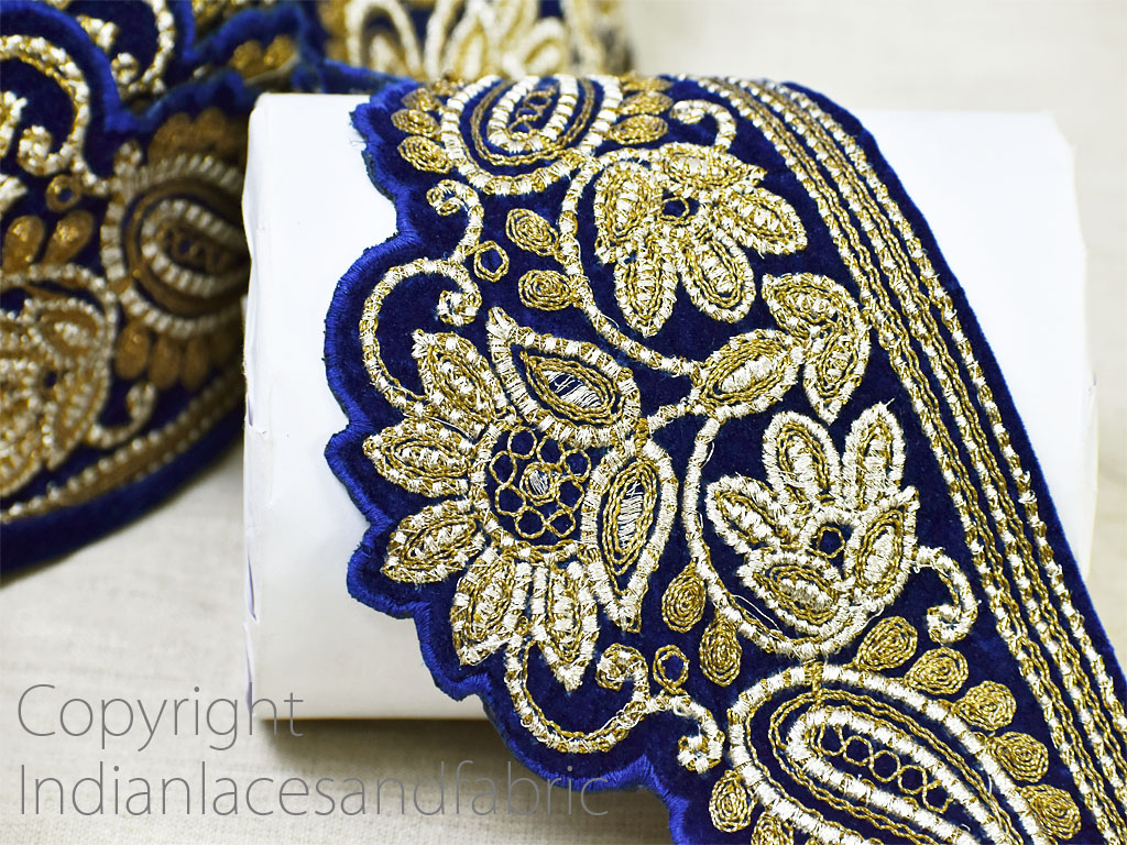 9 yard Wholesale Embroidered decorative Indian laces sari border fabric sewing crafting wedding dress ribbon lehenga tape home décor drapery cushion covers trimming hats making trim