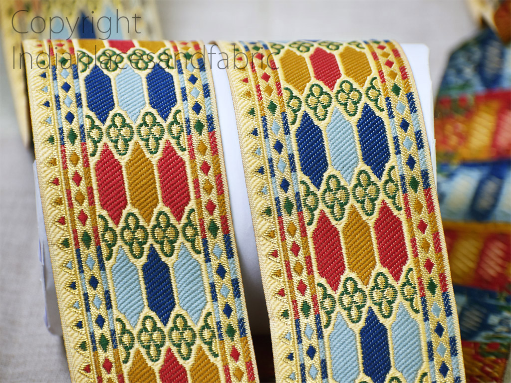 9 yard Wholesale kurti jacquard dresses tape gown border festive suit ribbon brocade decorative wedding saree laces sewing wear trim crafting Christmas trimming garment accessories
