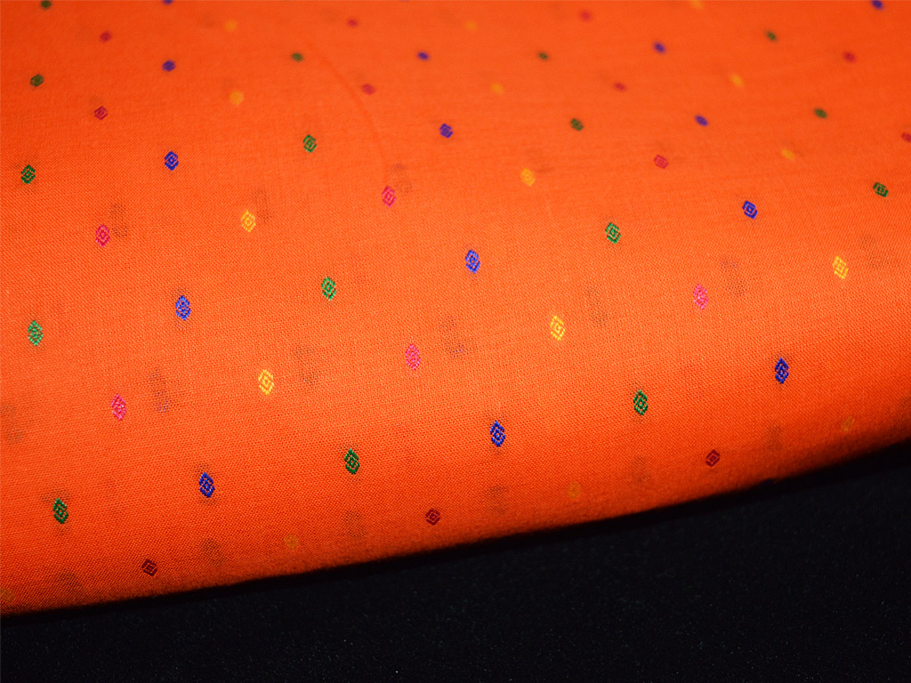 Pure Cotton Fabric - Indian Textured Cotton Fabric