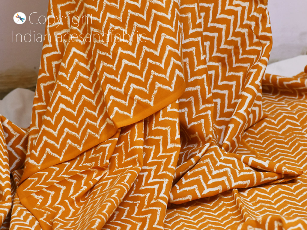 hand dyed /& hand printed with jewelry beads INDIAN SUMMER Triangular cloth